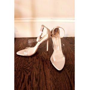 Fashion Nova/ Qupid nude heels